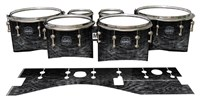 Mapex Quantum Tenor Drum Slips - Ashy Grey Rosewood (Neutral)