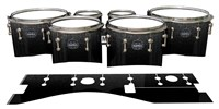 Mapex Quantum Tenor Drum Slips - Asphalt (Neutral)