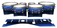 Mapex Quantum Tenor Drum Slips - Azzurro (Blue)