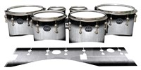 Mapex Quantum Tenor Drum Slips - Black Magic Fade (Neutral)