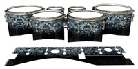 Mapex Quantum Tenor Drum Slips - Blue Ridge Graphite (Neutral)