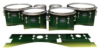 Mapex Quantum Tenor Drum Slips - Floridian Maple (Green) (Yellow)