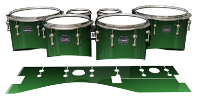 Mapex Quantum Tenor Drum Slips - Forever Everglade (Green)