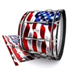 Pearl Championship Maple Bass Drum Slip - Stylized American Flag