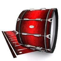 Pearl Championship Maple Bass Drum Slip - Active Red (Red)