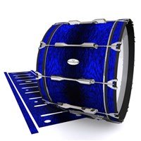 Pearl Championship Maple Bass Drum Slip - Andromeda Blue Rosewood (Blue)