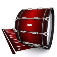 Pearl Championship Maple Bass Drum Slip - Apple Maple Fade (Red)