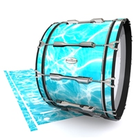 Pearl Championship Maple Bass Drum Slip - Aquatic Refraction (Themed)