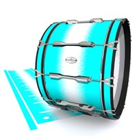 Pearl Championship Maple Bass Drum Slip - Aqua Wake (Aqua)