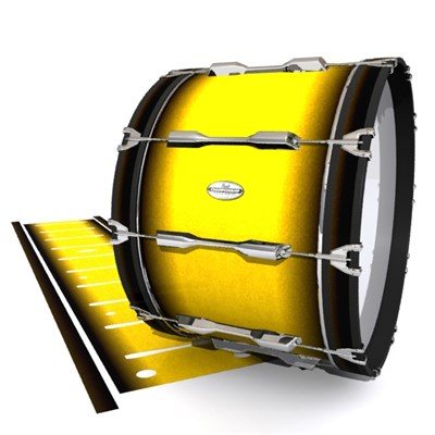 Pearl Championship Maple Bass Drum Slip - Aureolin Fade (Yellow)