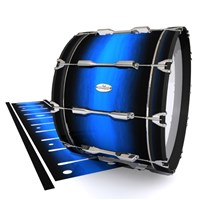 Pearl Championship Maple Bass Drum Slip - Azure Stain Fade (Blue)