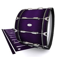 Pearl Championship Maple Bass Drum Slip - Black Cherry (Purple)