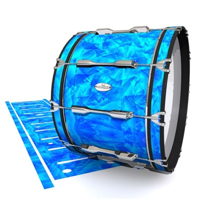 Pearl Championship Maple Bass Drum Slip - Blue Cosmic Glass (Blue)