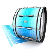 Pearl Championship Maple Bass Drum Slip - Blue Ice (Blue)