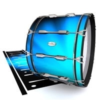 Pearl Championship Maple Bass Drum Slip - Blue Light Rays (Themed)