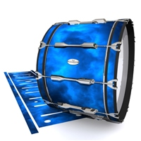Pearl Championship Maple Bass Drum Slip - Blue Smokey Clouds (Themed)
