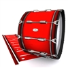 Pearl Championship Maple Bass Drum Slip - Cherry Pickin' Red (Red)