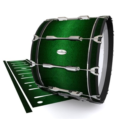 Pearl Championship Maple Bass Drum Slip - Deep Bamboo (Green)