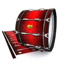 Pearl Championship Maple Bass Drum Slip (OLD) - Active Red (Red)