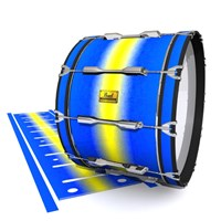 Pearl Championship Maple Bass Drum Slip (Old) - Afternoon Fade (Blue)