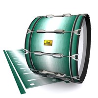 Pearl Championship Maple Bass Drum Slip (Old) - Alpine Fade (Green)