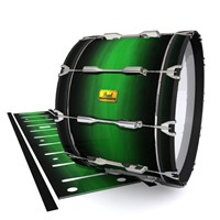 Pearl Championship Maple Bass Drum Slip (Old) - Asparagus Stain Fade (Green)