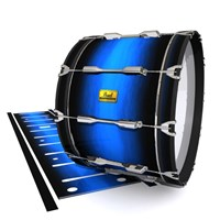 Pearl Championship Maple Bass Drum Slip (Old) - Azure Stain Fade (Blue)