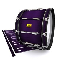 Pearl Championship Maple Bass Drum Slip (Old) - Black Cherry (Purple)