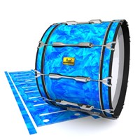 Pearl Championship Maple Bass Drum Slip (Old) - Blue Cosmic Glass (Blue)
