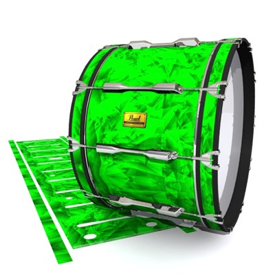 Pearl Championship Maple Bass Drum Slip (Old) - Green Cosmic Glass (Green)