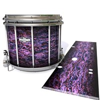 Pearl Championship CarbonCore Snare Drum Slip - Alien Purple Grain (Purple)
