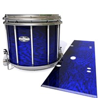 Pearl Championship CarbonCore Snare Drum Slip - Andromeda Blue Rosewood (Blue)