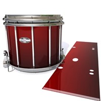 Pearl Championship CarbonCore Snare Drum Slip - Apple Maple Fade (Red)