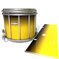 Pearl Championship CarbonCore Snare Drum Slip - Aureolin Fade (Yellow)