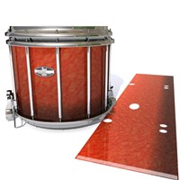 Pearl Championship CarbonCore Snare Drum Slip - Autumn Fade (Orange)