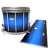 Pearl Championship CarbonCore Snare Drum Slip - Azure Stain Fade (Blue)