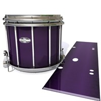 Pearl Championship CarbonCore Snare Drum Slip - Black Cherry (Purple)