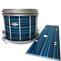 Pearl Championship CarbonCore Snare Drum Slip - Blue Horizon Stripes (Blue)