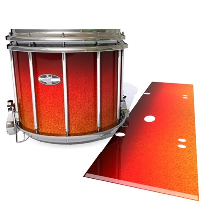 Pearl Championship CarbonCore Snare Drum Slip - Coral Sunset (Orange)