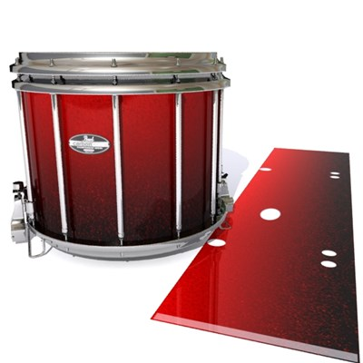 Pearl Championship CarbonCore Snare Drum Slip - Dragon Red (Red)