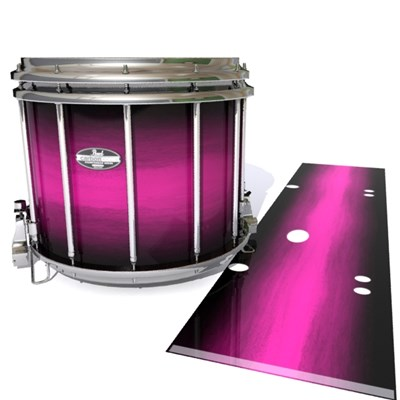 Pearl Championship CarbonCore Snare Drum Slip - Hot Pink Stain Fade (Pink)