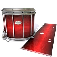 Pearl Championship Maple Snare Drum Slip - Active Red (Red)