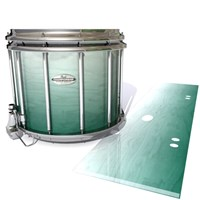 Pearl Championship Maple Snare Drum Slip - Alpine Fade (Green)