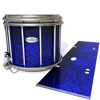 Pearl Championship Maple Snare Drum Slip - Andromeda Blue Rosewood (Blue)