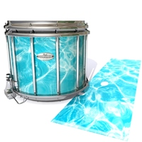 Pearl Championship Maple Snare Drum Slip - Aquatic Refraction (Themed)