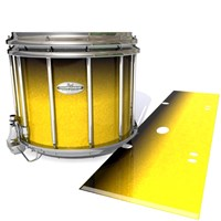 Pearl Championship Maple Snare Drum Slip - Aureolin Fade (Yellow)