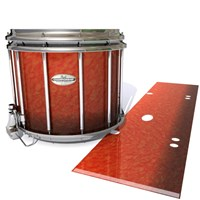 Pearl Championship Maple Snare Drum Slip - Autumn Fade (Orange)