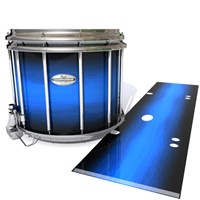 Pearl Championship Maple Snare Drum Slip - Azure Stain Fade (Blue)