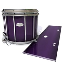 Pearl Championship Maple Snare Drum Slip - Black Cherry (Purple)