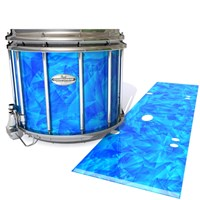 Pearl Championship Maple Snare Drum Slip - Blue Cosmic Glass (Blue)